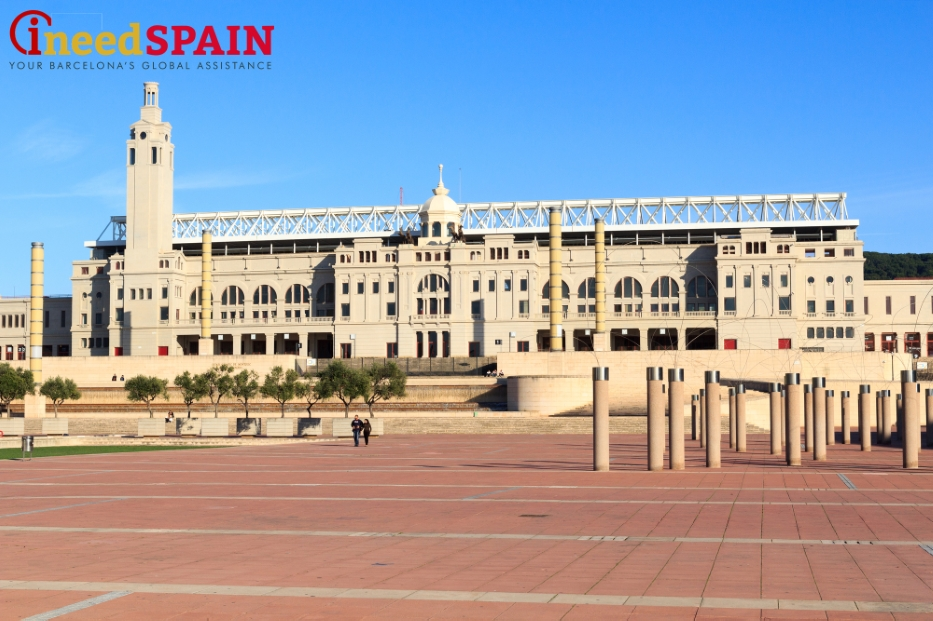 Olympic park of Barcelona